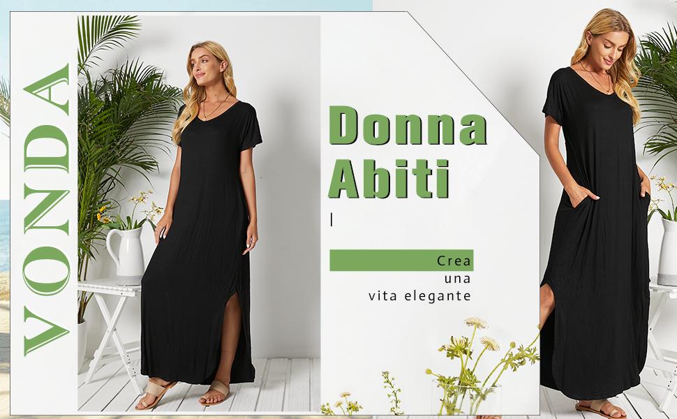 vestiti estivi donna vestiti eleganti donna abiti lunghi estivi donna vestiti donna lung