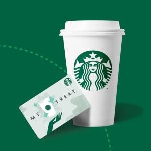 Starbucks My Treat