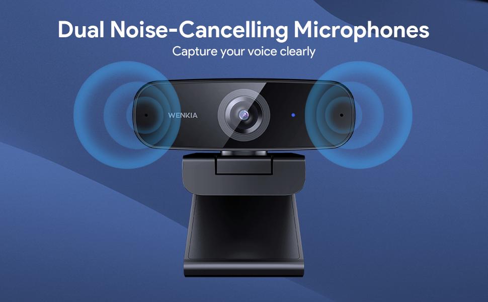webcam microphone 1080p fhd usb hd 4k streaming microsoft laptop mac desktop mic recording calling