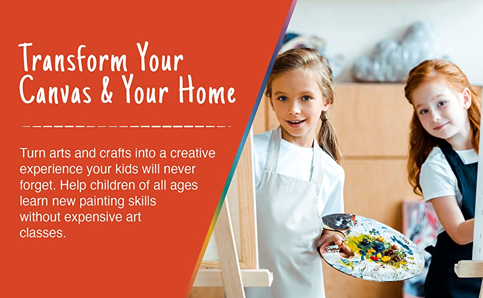 transform your canvas and your home