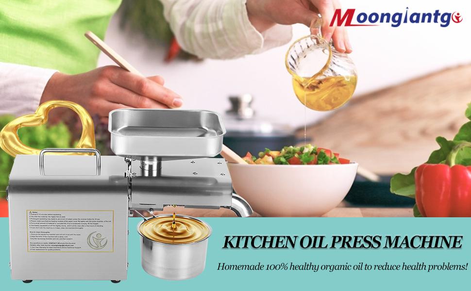 kitchen oil pressed machine