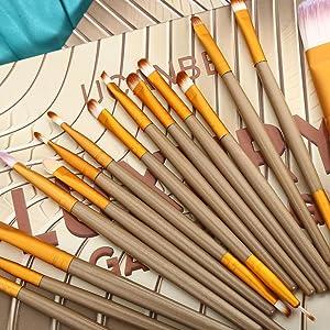 15 pcs brushes set
