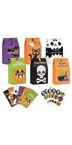 30PCS Halloween Treat Bags Bulk B08ZCBXH9P