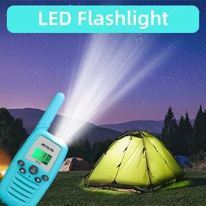 walkie talkies for kids with flashlight