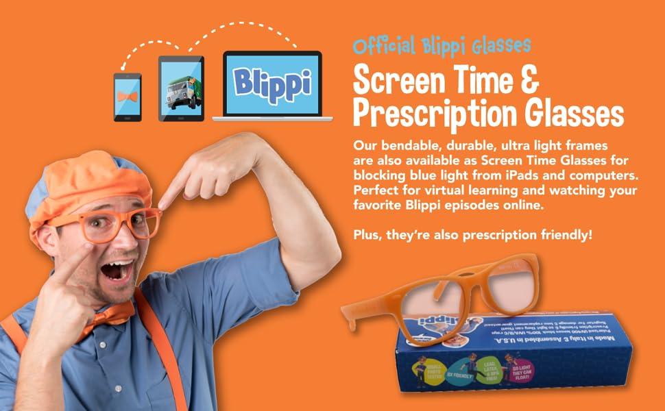Official Blippi Screen amp;amp; Prescription Glasses