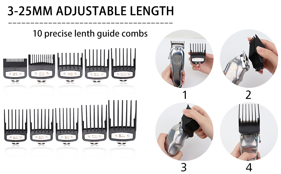 Professional Hair Clipper Guards