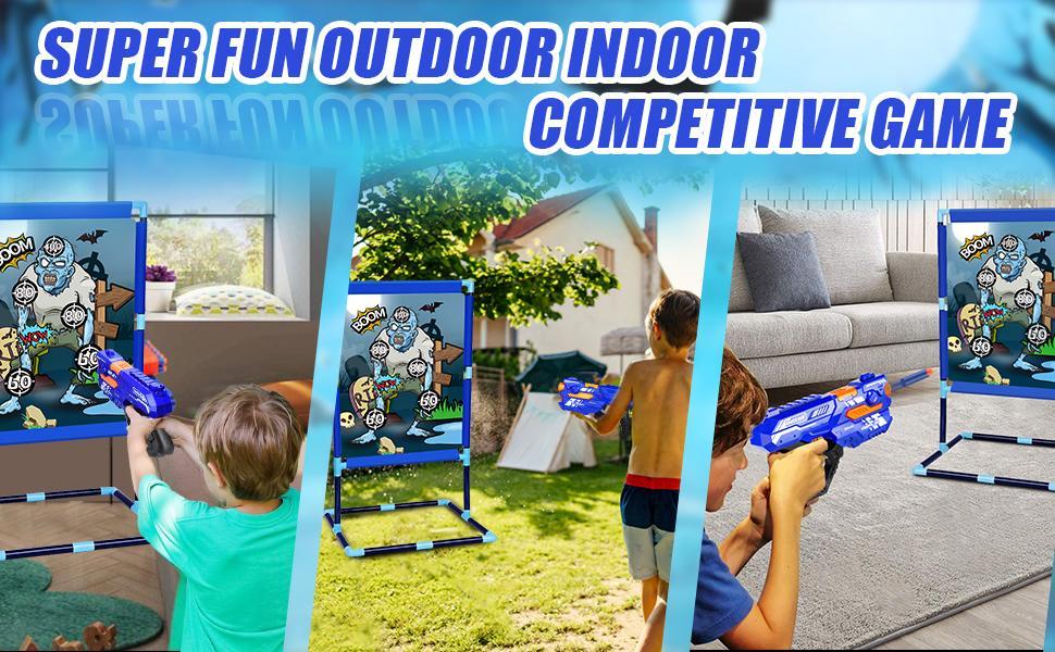 Super FUN Nerf Gun  outdoor game