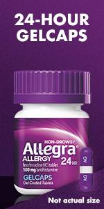 OTC allergy gels.