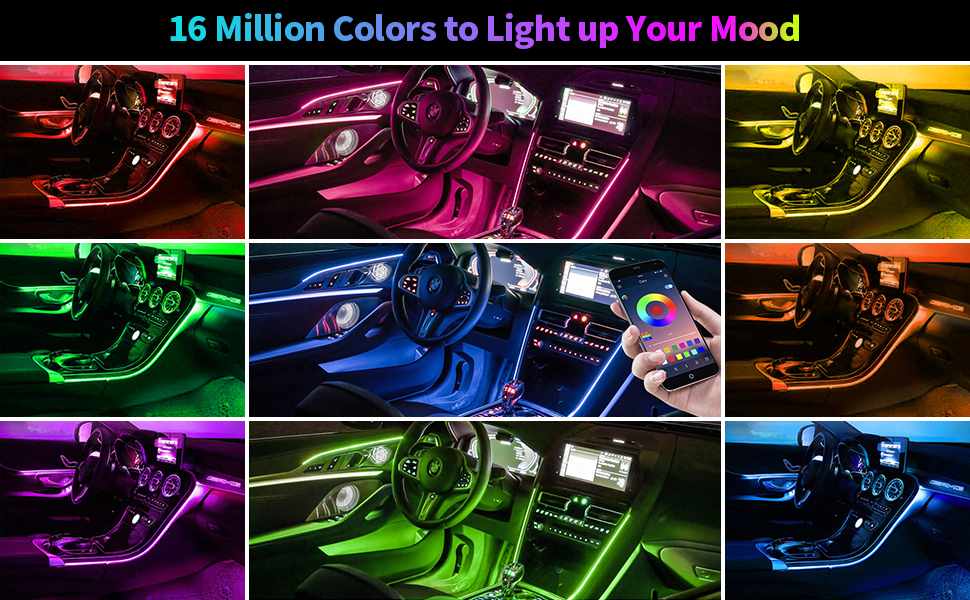 Interior Car Lights 72 Led