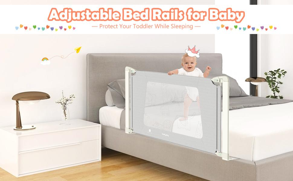 adjustable bed rails for baby
