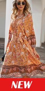 Womens V Neck Maxi Dress