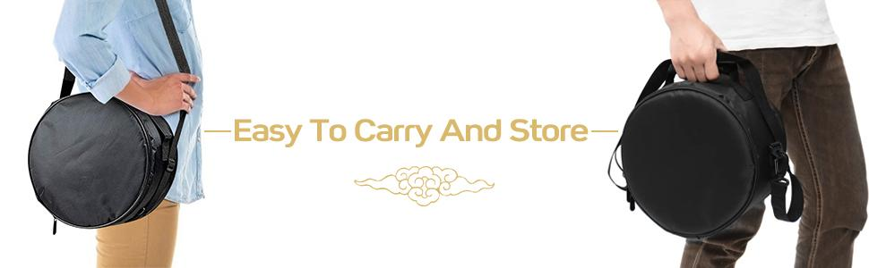 easy to carry and store