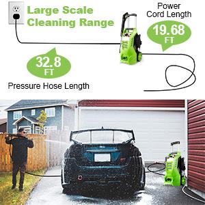 Power washer hose