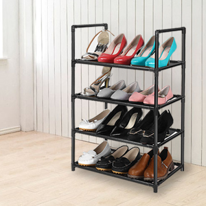 adjustable shoe rack for small space