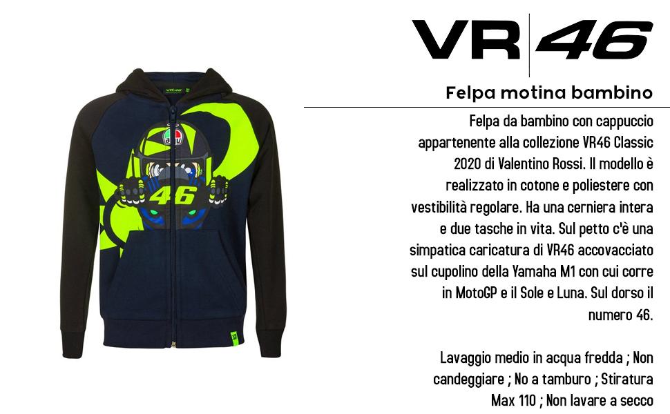 Valentino Rossi Colección Vr46 Classic Sudadera Niños