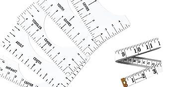 6 pcs ruler tools