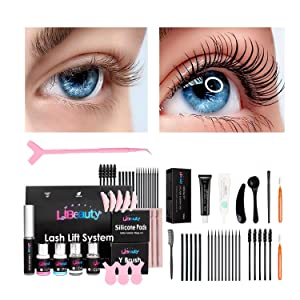 Libeauty Lash Lift And Tint Kit 2 In One DIY At Home With Effective Tools