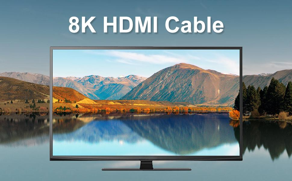 8k hdmi cable 48gbps 2.1