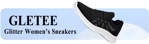 Gletee Glitter women's fashion sneakers