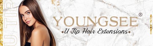 U Tip Hair Extensions Human Hair