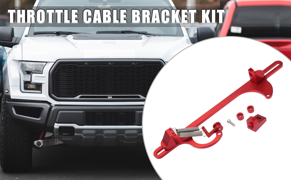 Car Adjustable Throttle Cable Bracket Kit for 4150 for 4160 Series
