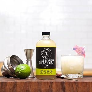 Lime and Yuzu Margarita Mix