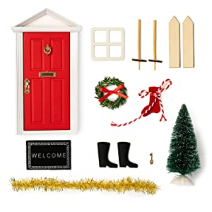 This elf door sets provided: