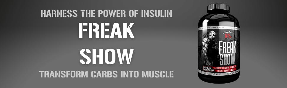 Freak Show Insulin Mimicker Transform Carbs into Muscle
