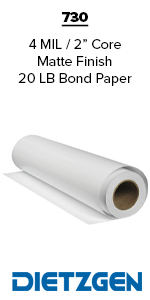 Dietzgen Bond Paper