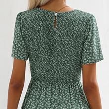 smocked dress for women summer
