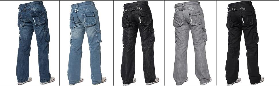 cargo jeans for men, mens cargo jeans, cargo combat jeans mens, combat jeans, mens loose jeans