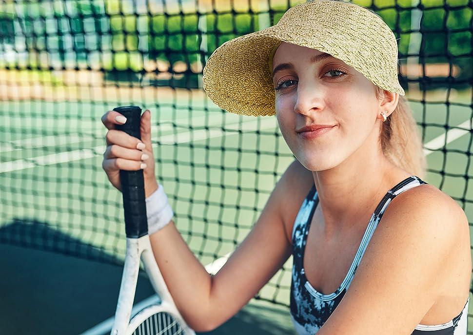 women tennis visor