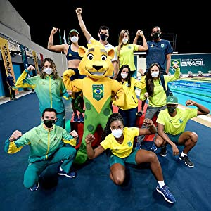 Brazilian athletes will be wearing the Fiber Knit sport masks for the Olympics