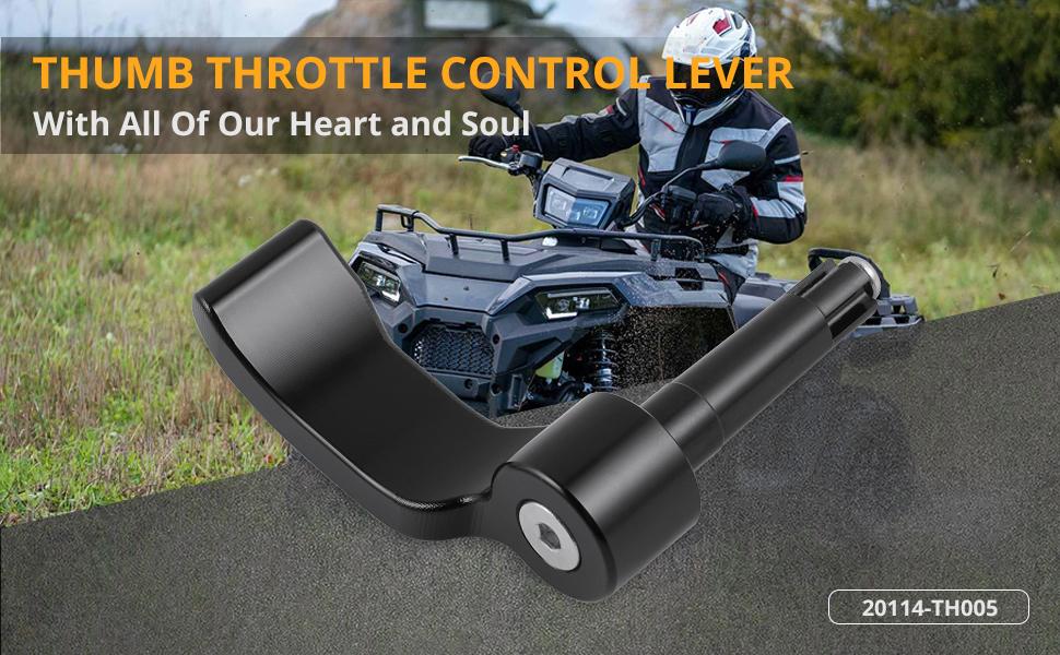 ATV Thumb Throttle Lever