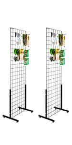 Floorstanding Wire Grid Panel Tower