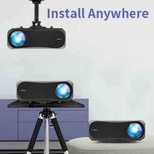 wireless mirroring projector