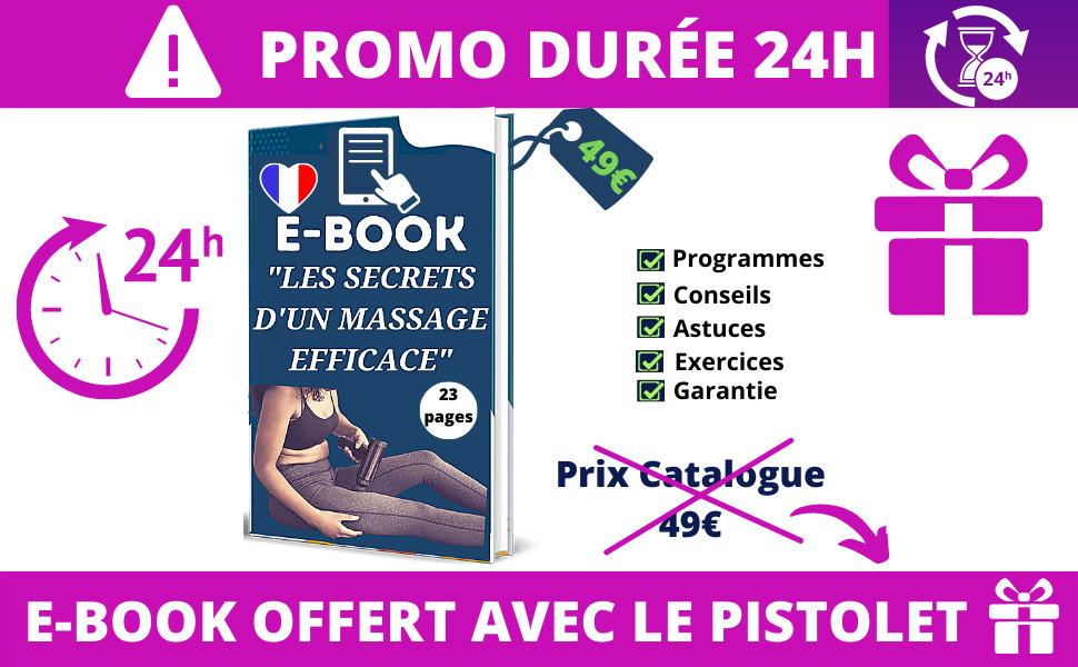abox pistolet de massage musculaire masseur appareil anti cellulite tete dos et nuque