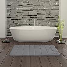 balck bathroom rug set