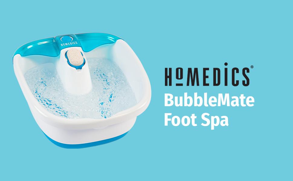 bubbleMate foot spa foot bath bubble massage
