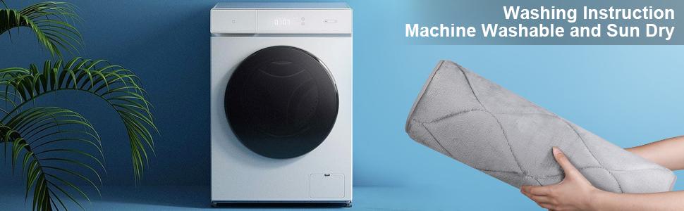 Machine Washable Bathroom Rug