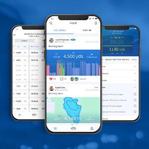 FORM app voor het zwemmen