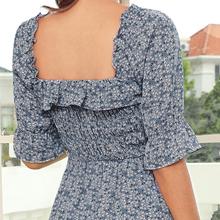 half sleeve midi dress