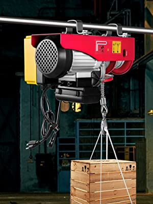 110v electric winch