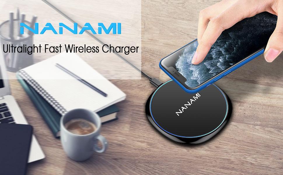 NANAMI Ultralight Fast Wireless Charger