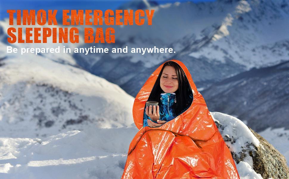 Timok Emergency Sleeping Bag