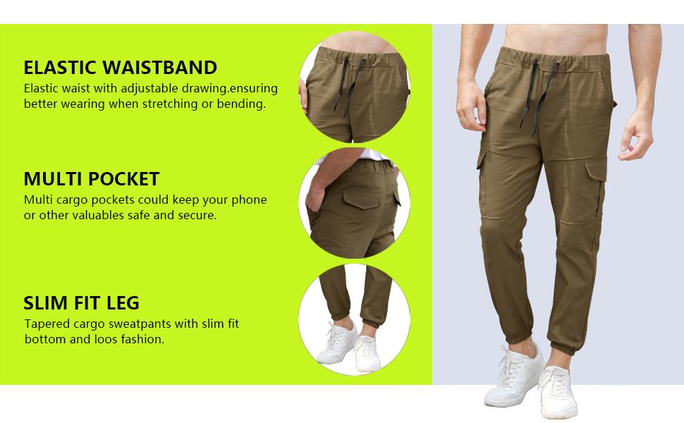 Active pants for men