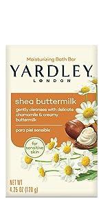 Yardley London Shea Buttermilk Bar Soap