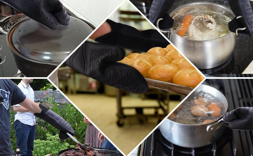 multipurpose oven mitts
