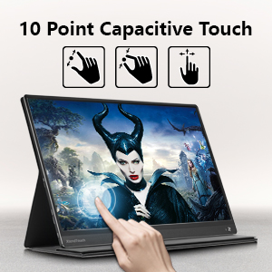 10 point capacitive touch