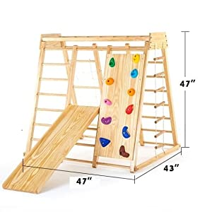 Smaller size of wooden swing